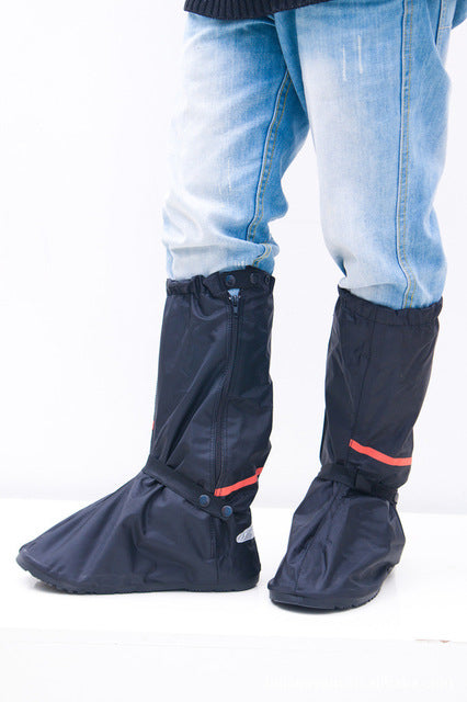Brand Waterproof ShoesCover Women and Men Moto Riding Footwear Covers Unisex Polyester Snow Proof Covers Wholesales
