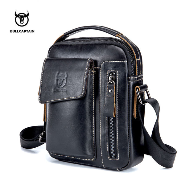 Leather Men Messenger Bag Casual Crossbody Bag Business Men's Handbag Bags