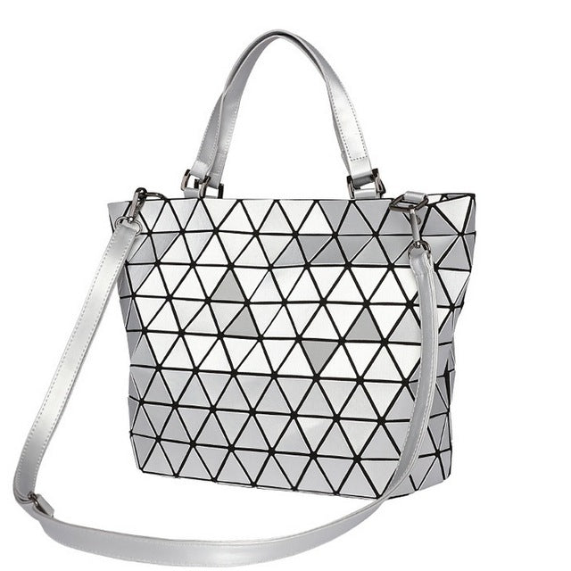 Luminous Diamond Casual Tote Bucket Women Handbag