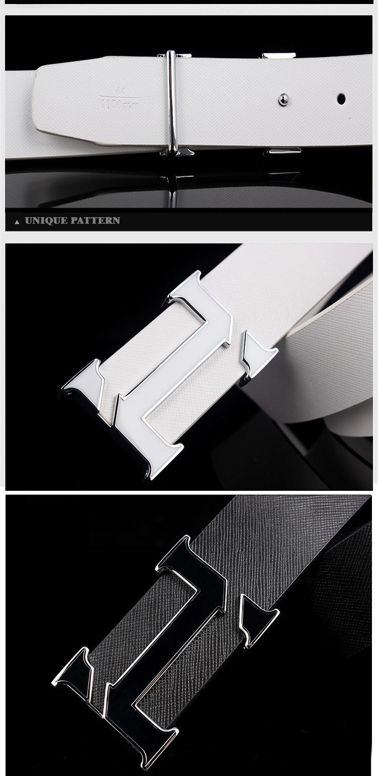 high quality luxury Style Men's Belt