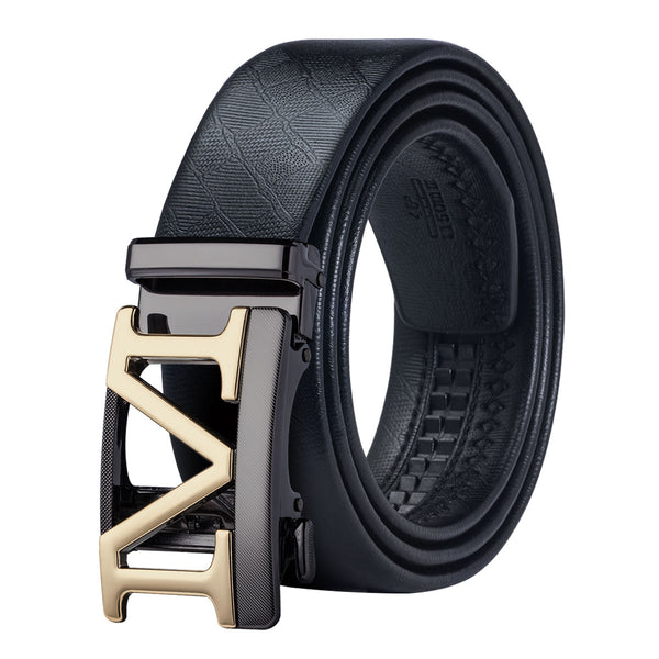 Popular Fashion Belts Automatic Straps High Quality Genuine Leather Cintos Men