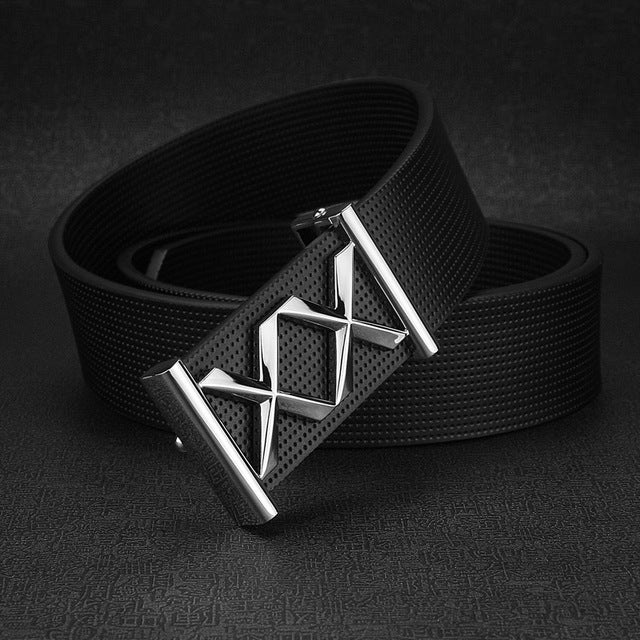 New Double X letter Waist Strap Cowskin white designer belts men Casual genuine leather men luxury brand belt ceinture homme