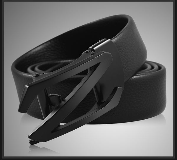Automatic Buckle Strap Mens Belt