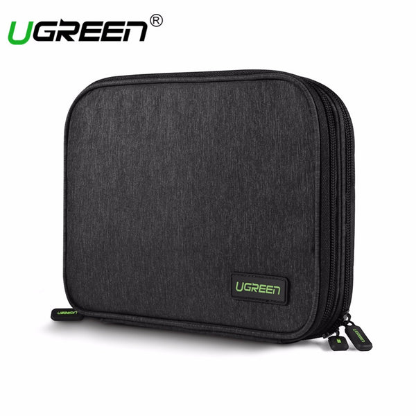 Travel Bag For Large Capacity  Power Bank, HDD, SSD, IPad Mini