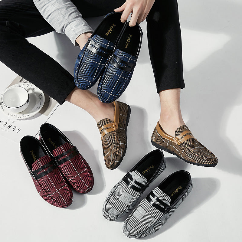 New Spring Korean trendy breathable men's casual tide shoes