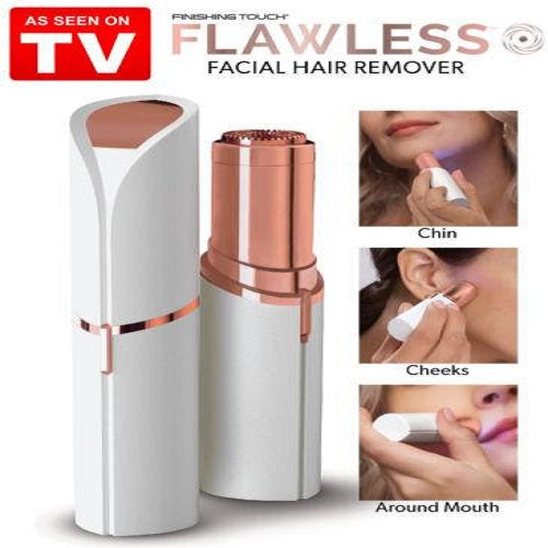Flawless Face Electric Hair Remover As Seen on TV, Painless -Beauty Gadgets, [PerfecTrends_4U]
