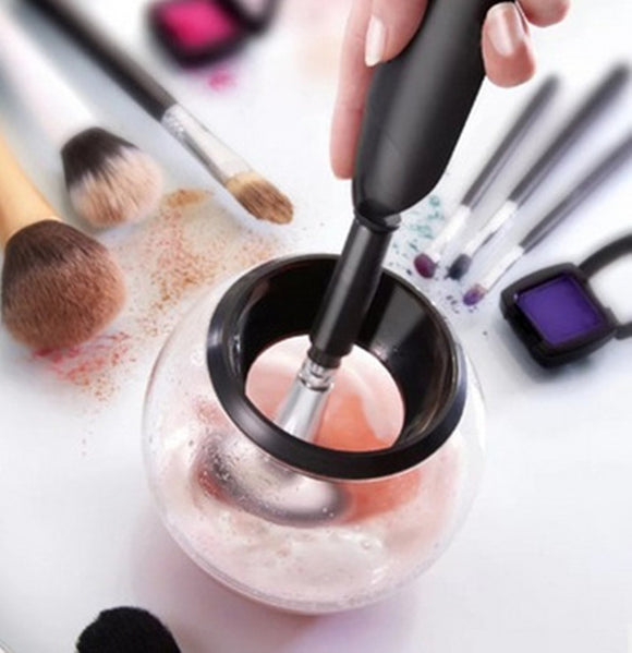 Electric Makeup Brush Cleaner & Dryer Set Makeup Brush 360 Degree Beauty Gadgets, [PerfecTrends_4U]