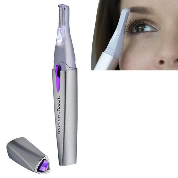 Finishing Touch Electric Hair Remover Lumina Lighted with Pivoting Head Beauty Gadgets, [PerfecTrends_4U]