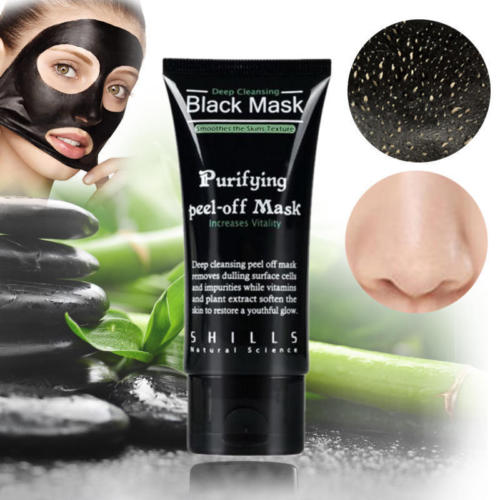 Deep Cleansing Purifying Peel Off Black Blackhead Remove Facial Masks Natural Cosmetic