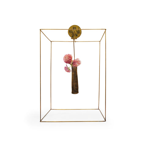 Vase Pin with Frame
