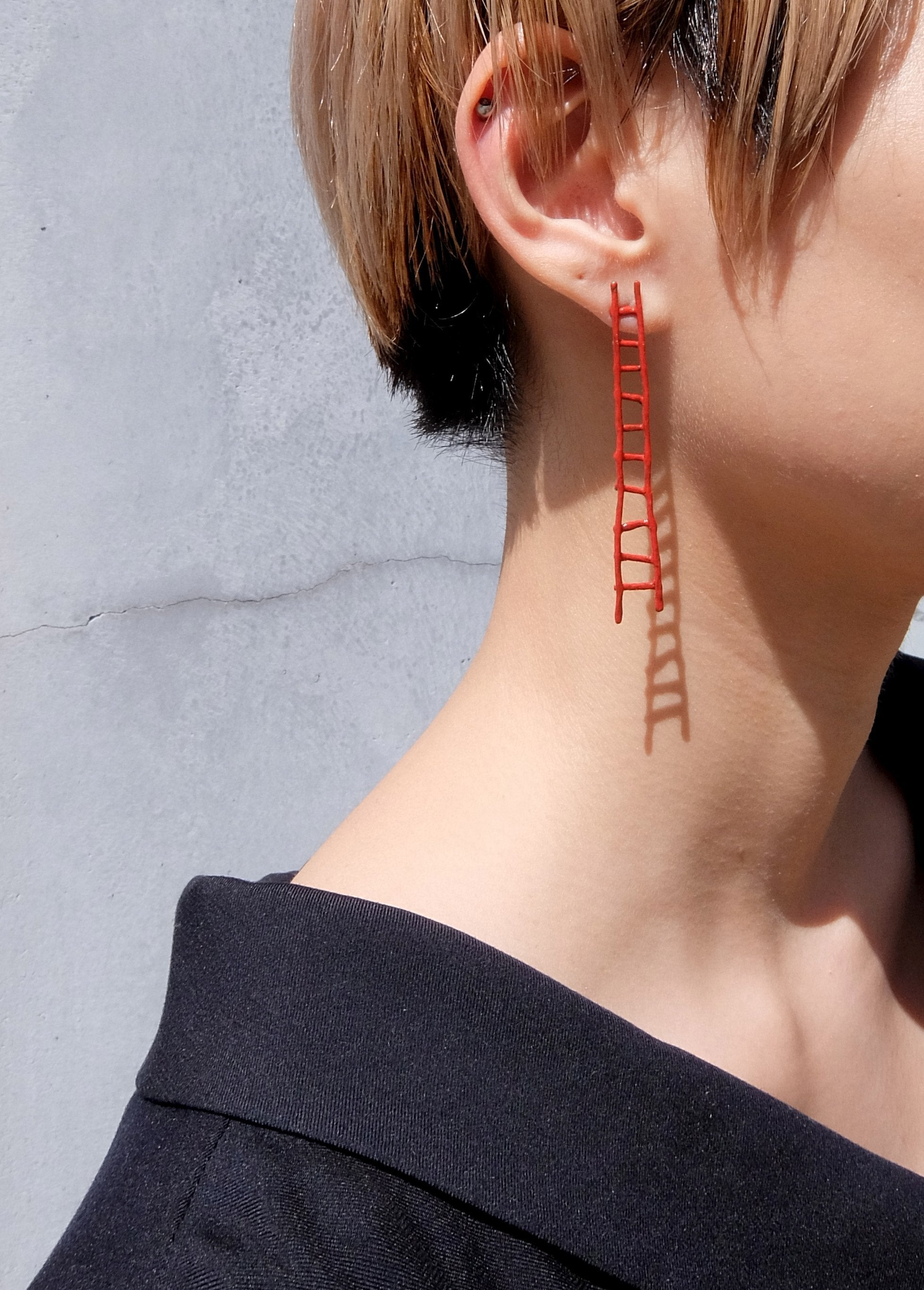 Long Ladder Earring