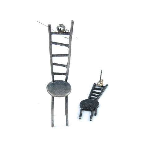 Ladder Chair with Shadow Earring