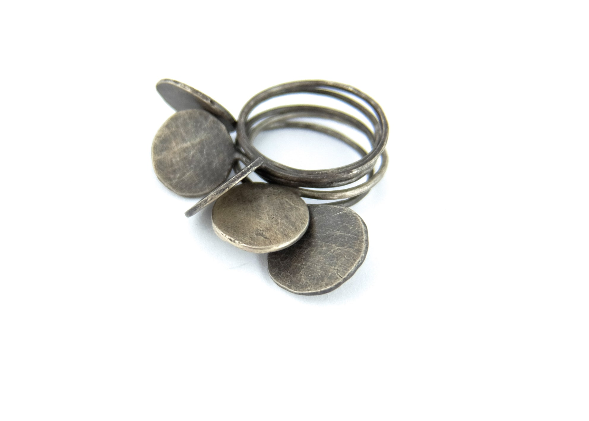 5set Silver Maru Ring