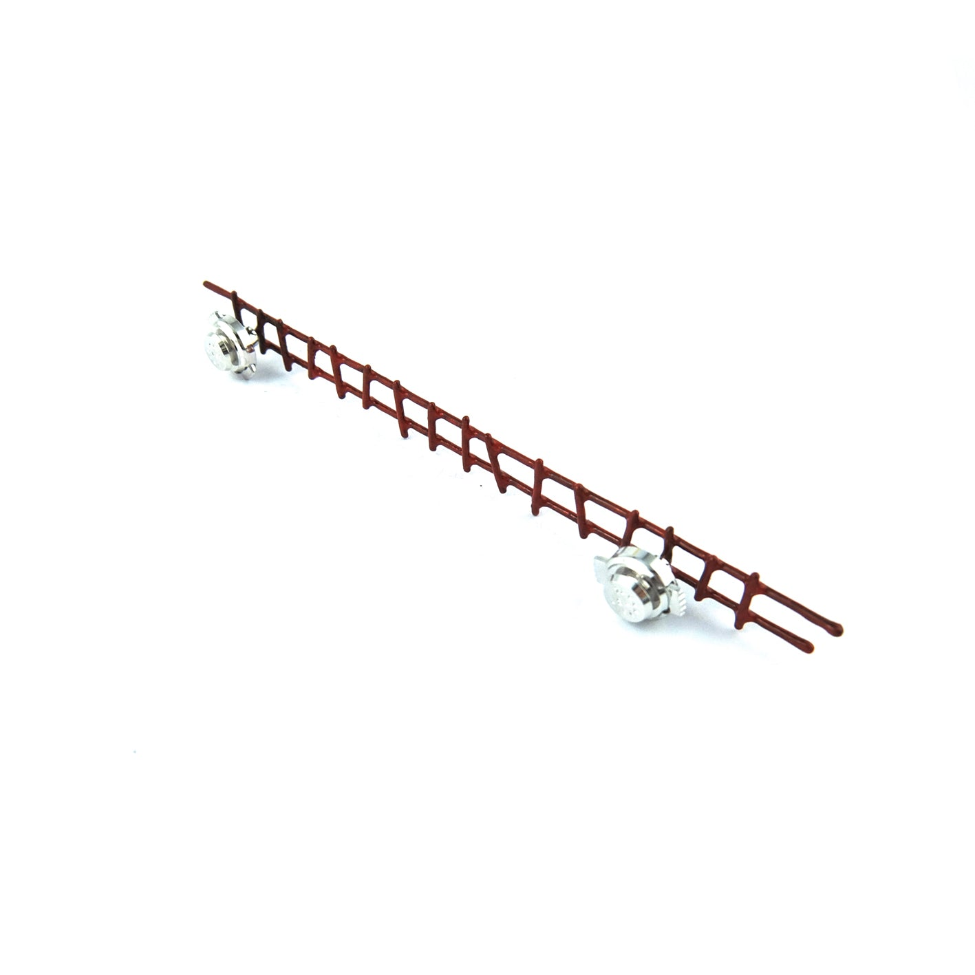 Long Ladder Pin Brooch