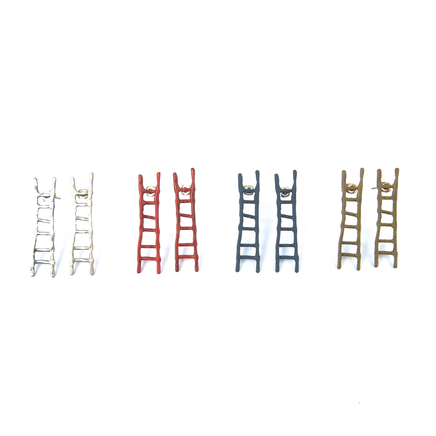 Short Ladder Earrings
