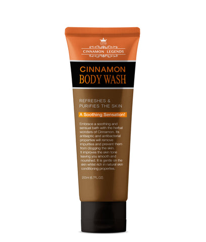 Cinnamon Body Wash – 200ml
