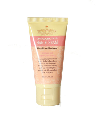 Cinnamon Citrus Hand Cream – 50ml