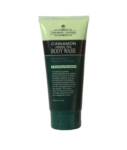Cinnamon Green Tea Body Wash - 200 ml
