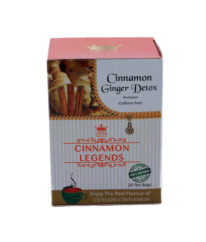 Cinnamon Ginger Detox Revitalizer Tea