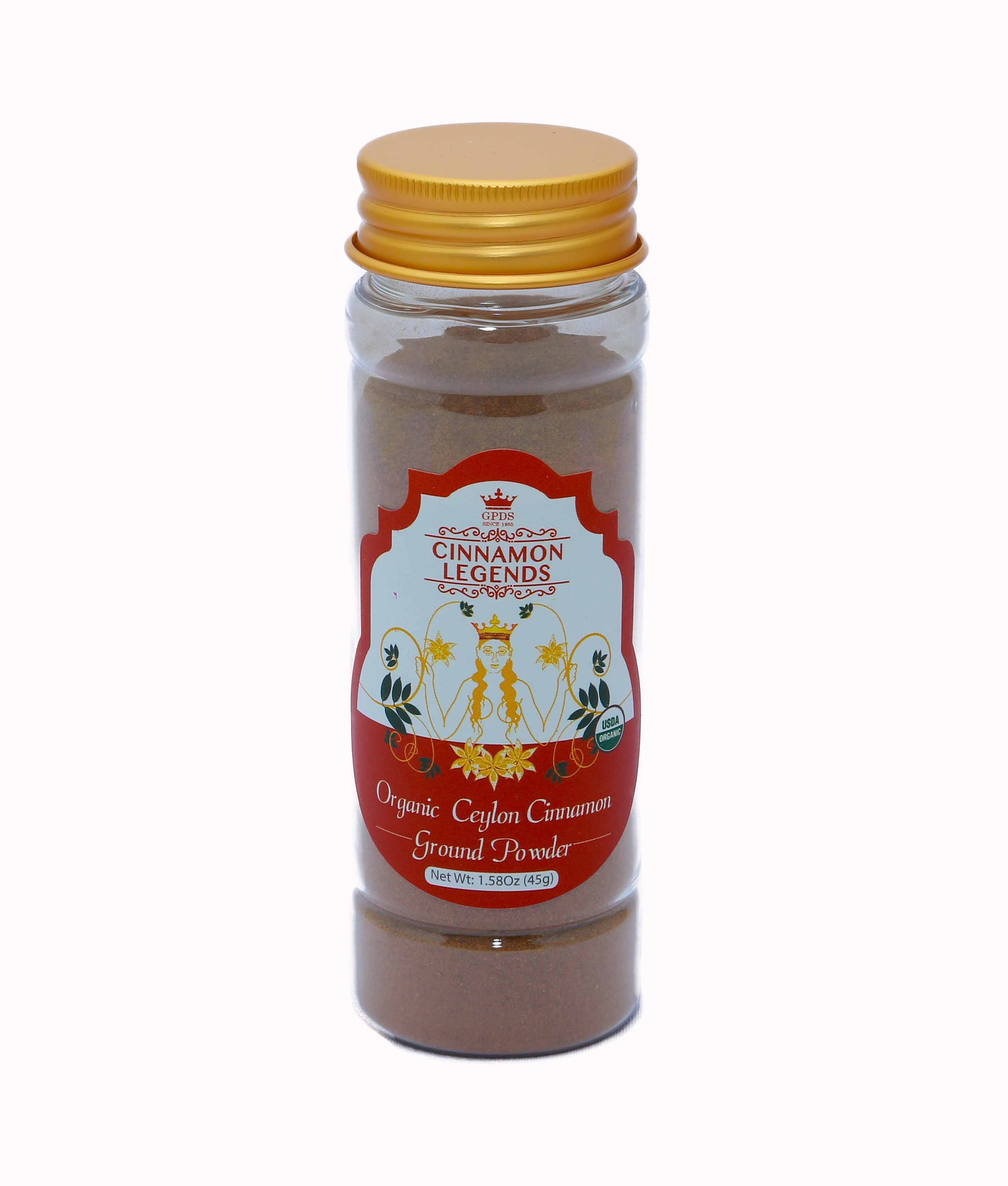 Bio Ceylon Cinnamon Ground Powder - 60g