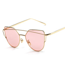 Cat Eye Metal Fashion Sunglasses - Mix Colors