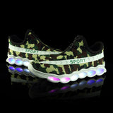 New Sport Led Shoes - Camo