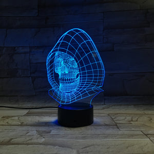 3D Evil Illusion Led Lamps