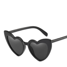 Load image into Gallery viewer, Lovestruck High Tip Cute Heart Sunglasses - Mix Colors