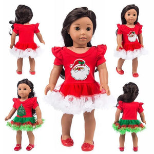 Christmas Clothes For American Girl 18 inch Doll - Mix Styles