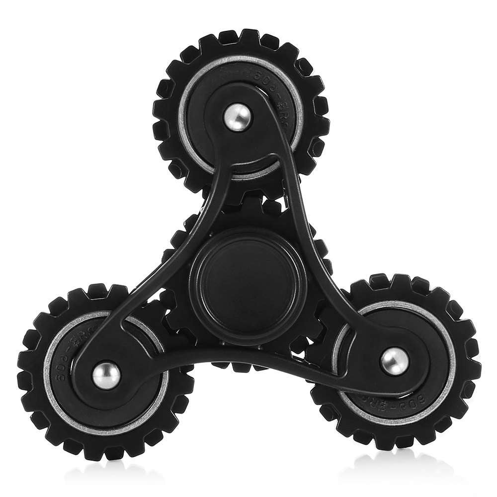 Four Gear Linkage Fidget Spinner