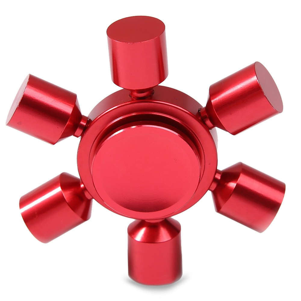 Focus Toy Rudder Fidget Metal Spinner