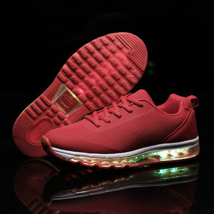 New Light Up Led Sneakers - Red