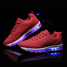 Load image into Gallery viewer, New Light Up Led Sneakers - Red