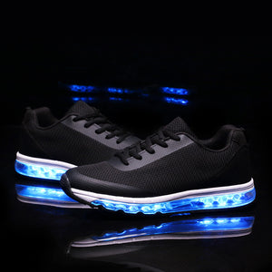New Light Up Led Sneakers -Black