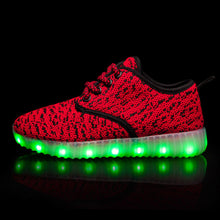 Load image into Gallery viewer, New Style Yeezy Led Kids Shoes - Red