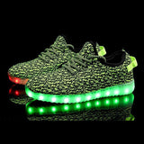 Yeezy Light Up Shoes - Green