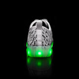 New Style Yeezy Led Kids Shoes - White