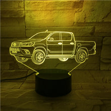 3D Car Illusion Led Lamps