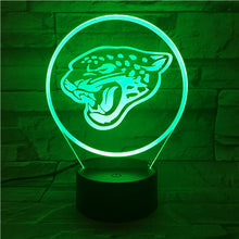 3D Cheetah Illusion Led Lamps