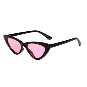 Womens Wholesale Hipster Tear Drop Cat Eye Lens Plastic Sunglasses - Mix Colors
