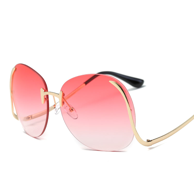 Geometric Vintage Inspired Round Sunglasses - Mix Colors