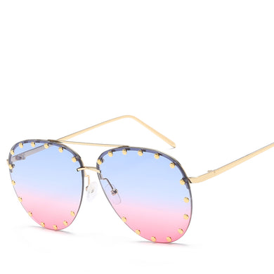 Modern Brow Bar Slim Metal Round Sunnies - Mix Colors