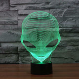 3D Alien Illusion Led Lamps