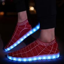 New Light Up Summer Led Shoes - Red
