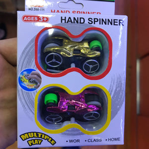 2 Racing Cars, Car Fidget Hand Spinners