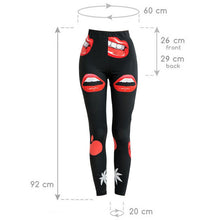 Lips Fashion Leggings