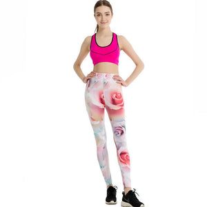 Rose Fashion Leggings