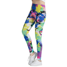 Load image into Gallery viewer, Colorful Painting Fashion Leggings