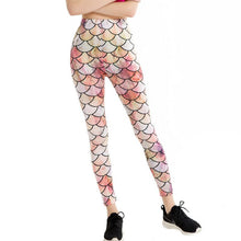 Cornice Plane Fashion Leggings - Pink