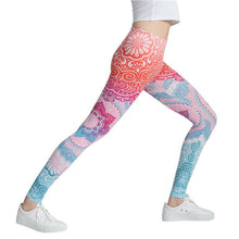 Load image into Gallery viewer, Pink Multi-Color Fashion Leggings